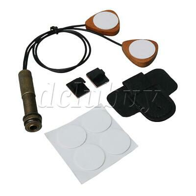 Piezo Contact Microphone Pickup for Acoustic Classical Guitars Ukuleles