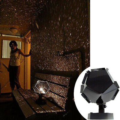 AU Rotating Star Sky Projector Night Light Baby Child Kids Room Light Lamp Sweet