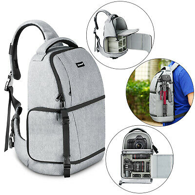 Neewer Sling Camera Bag - Camera Case Backpack with Padded Dividers for DSLR