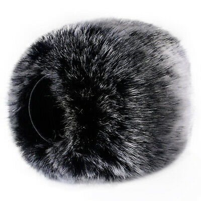Neewer Outdoor Microphone Furry Windscreen Muff for Zoom H4n H5 H6 Tascam DR-05
