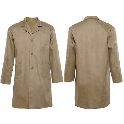 Blouse manteau pharmacie laboratoire technicien hygiene medical Kaki Taille L