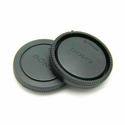 2pcs Rear Lens Cap+Front Body Cover Cap for SONY E-Mount Digital SIR Camera