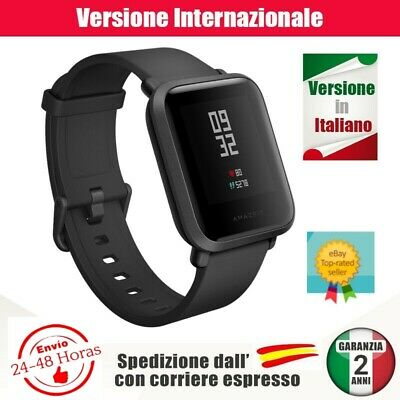 Smart Watch Xiaomi Amazfit Bip NERO ORIGINALE in italiano. Spedizione urgente