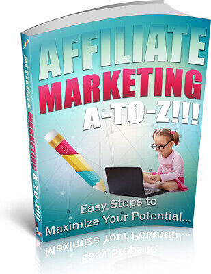 Affiliate Marketing A To Z eBook With Master Resell Right Bonus + PDF