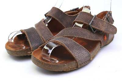 Art Womens EU Size 39 Brown Leather Sandals