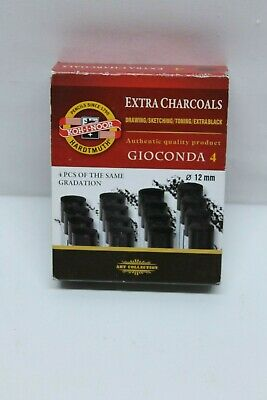 5x Koh-I-Noor 8694 Gioconda Sets of Artificial Extra Charcoals