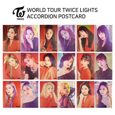 Twice - World Tour 2019 Twice Lights - Post Card - Member Set