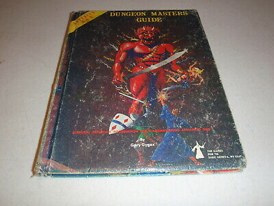 Advanced Dungeons & Dragons Dungeon Masters Guide TSR December 1979 Revised