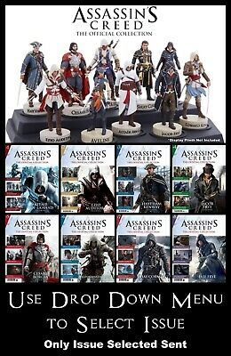 Hachette Assassin's Creed The Official Collection Magazine & Model - New Sealed