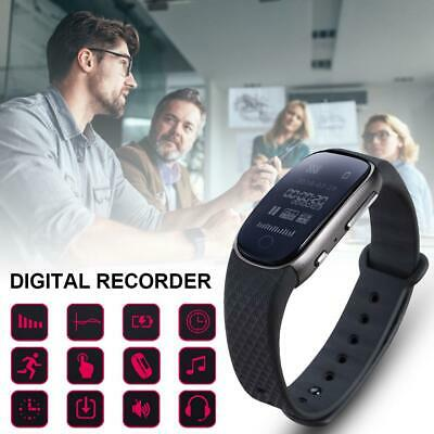 Voice Recorder Watch for Lectures Meetings Digital Audio MP3 Player 8/16G