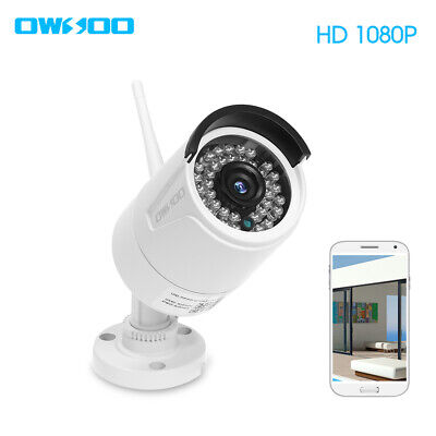 OWSOO 1080P Wireless WIFI Pan Tilt IP Camera 2.0MP 3.6mm Lens Night Vision T3Q0