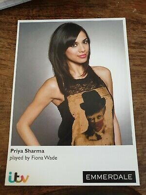 Emmerdale Priya Sharma Cast Card