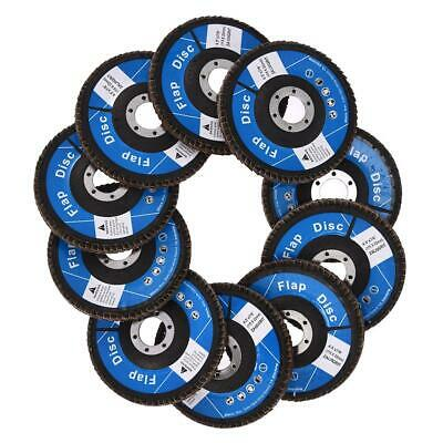10PCS 4.5-inch Discs Flap 6L42 Round Flap Discs Polishing Abrasive Wheel Flap