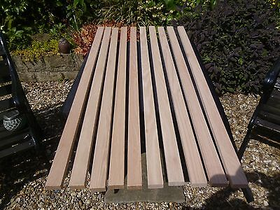 Enjoyable Timber Garden Bench Slats 12 Pieces 35 55 Mm By 20 Mm 1200 Ibusinesslaw Wood Chair Design Ideas Ibusinesslaworg