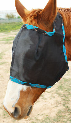Equine Horse Fly Mask Summer Spring Airflow Mesh UV Mosquitoes  73201
