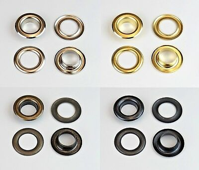 Istatools Eyelets,3/4/ 5/6/ 7/10/12 / 17mm Steel Eyelet Rivets Sleeves Banner