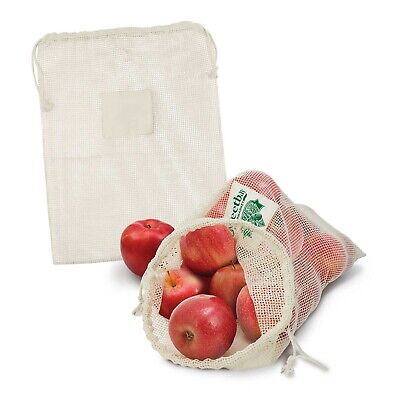 50 x Cotton Produce Bag Bulk Gifts Promotion Business Merchandise