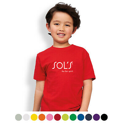 25x SOLS Imperial Kids T-Shirt/Apparel Bulk Gifts Promotion Business Merchandise