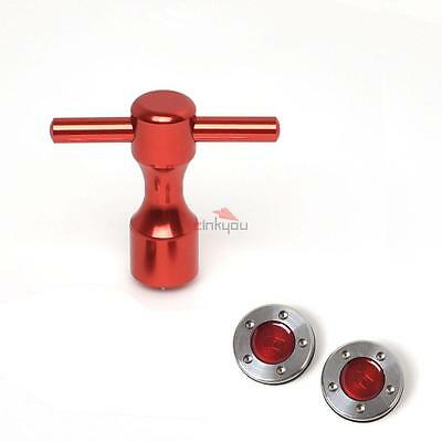 2PCS Red Golf Custom Weights 10g~40g For Titleist Scotty Cameron with wrench
