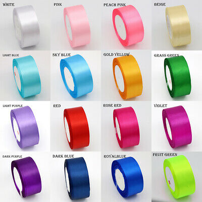 22meter Full Reel 40mm Satin Ribbon High quality Roll Scrapbooking Craft 25yards