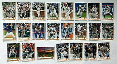 New York Mets 2019 Topps Series 1 & 2 Base Team Set *23 cards* Pete Alonso RC