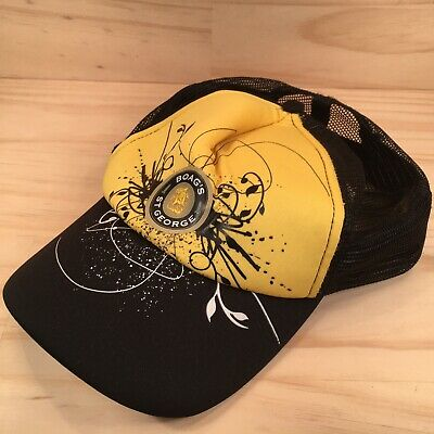 """BOAG'S ST GEORGE """"Black & Yellow"""" Collectable Baseball Cap Beer Alcohol Hat"""