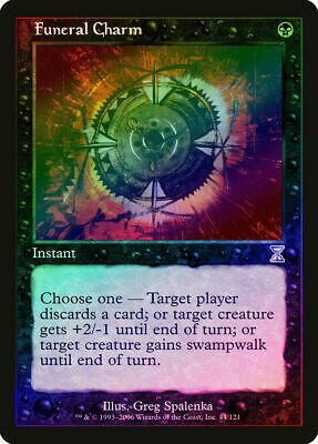 MTG 1x FUNERAL CHARM Rare NM Magic the Gathering Visions//Time Spiral