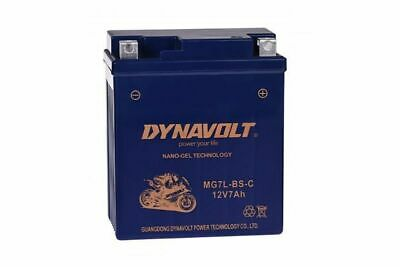DYNAVOLT Dynavolt Bike Power Batterie GEL YTX7L-BS