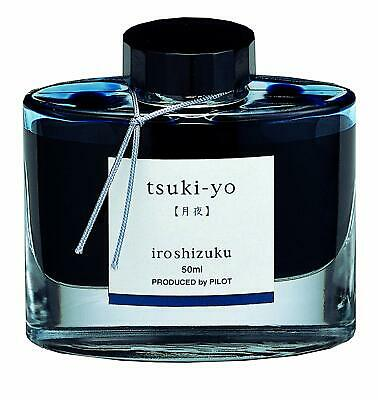 PILOT FOUNTAIN PEN TSUKIYO Moon Night INK iroshizuku Blue INK-50-TY NEW w/Box
