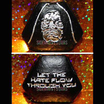 PALPATINE SITH WISDOM TOKEN Star Wars Galaxy's Edge hate quote stone rock Disney