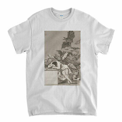 Goya T Shirt The Sleep Of Reason Produces Monsters Fine Art Old Masters T-Shirt