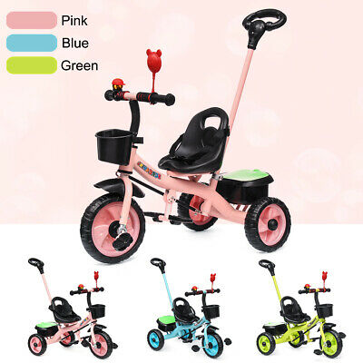 3 Wheel 2 in 1 Bike Bicycle Tricycle Trike Basket Kid Toddler Outdoor Fun Toy AU