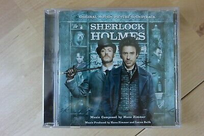 Sherlock Holmes Motion Picture Soundtrack (CD 2009) Hans Zimmer