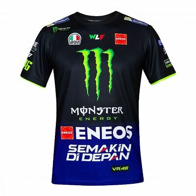 Valentino Rossi VR46 Moto GP M1 Yamaha Racing Team T-shirt Official 2019