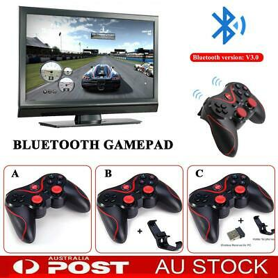 Dual Shock Wireless Bluetooth Controller Joystick Gamepad For Android iOS PC AU