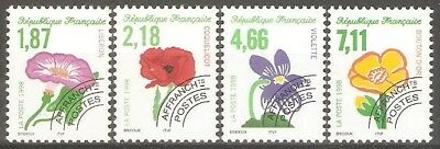 France - 1998 Flowers Sg3511/4 MNH ( Cat.£11.50p )