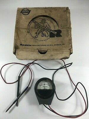 Vintage Rodale Battery Cell Tester D.C. Volts Made in USA