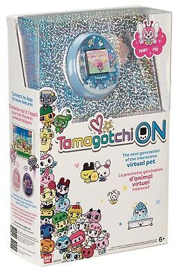 BANDAI Tamagotchi On Virtual Pets Fairy Blue Limited Quantities In Stock