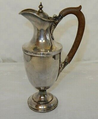 Vintage Walker & Hall Silver Plated Grecian Style Lidded Jug