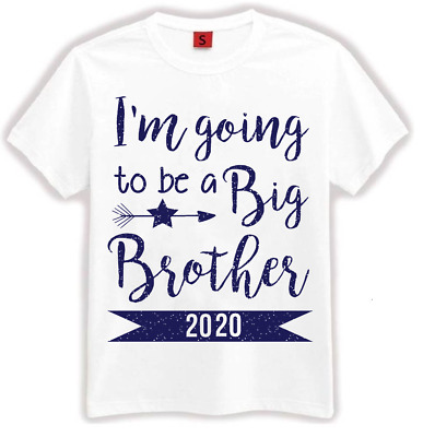 I'm going to be a Big Brother T-Shirt Kids Children T Shirt Announcement Gift