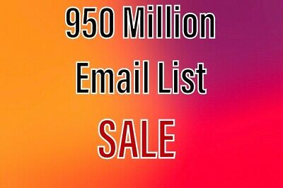2 MILLON USA email list for business & Marketing - $3 99 | PicClick
