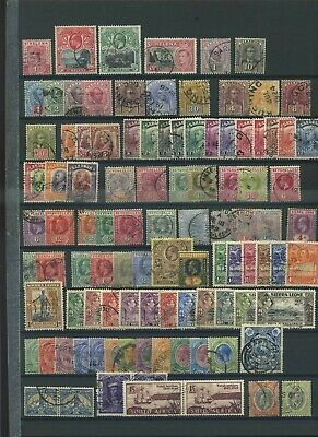 Commonwealth mid period used  collection