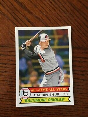 2019 Topps Tbt 1979 All Time All Star Set #26 Card Orioles Cal Ripken #153