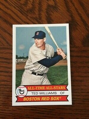 2019 Topps Tbt 1979 All Time All Star Set #26 Card Boston Red Sox Ted Williams