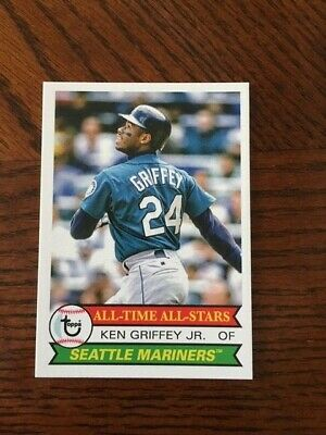 2019 Topps Tbt 1979 All Time All Star Set #26 Card Mariners Ken Griffey Jr