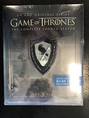 Game of Thrones: Season 4 Bluray Limited Edition Steelbook
