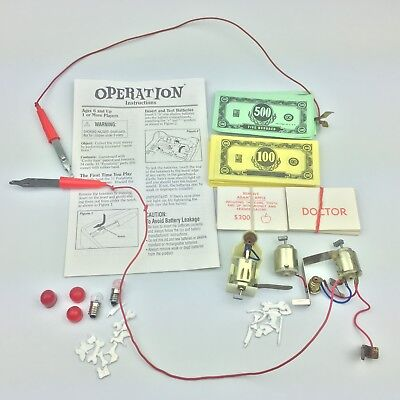Operation Board Game Replacement Parts - Select Your Own Piece(s)