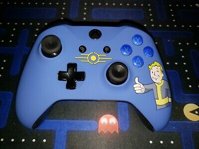 XBOX ONE CONTROLLER with CUSTOM LED GLOWING MOD Halo COD