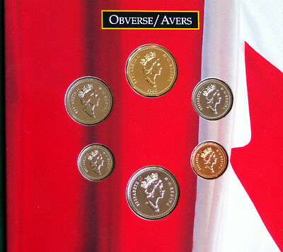 1996 Canada Oh Canada set - 6 perfect coins in original packaging A1 coins!