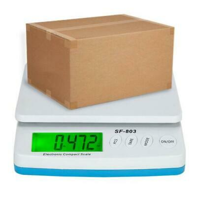 66 LB x 0.1oz Digital Postal Shipping Scale Weight Postage 30kg with AC Adapter
